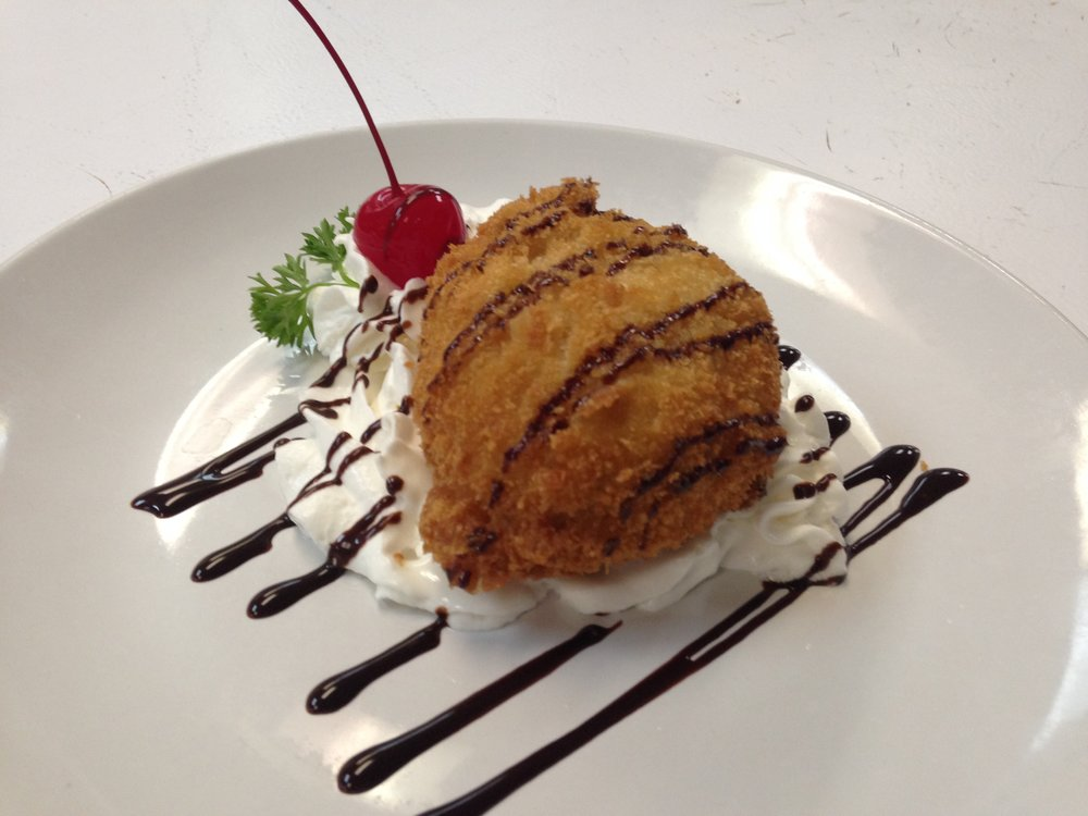 Fried ice cream - 5.95
