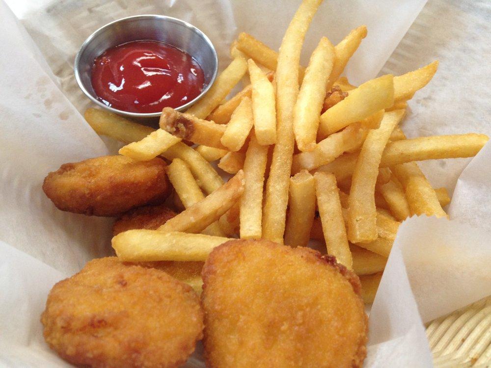 chicken nuggets w/fries - 6.95