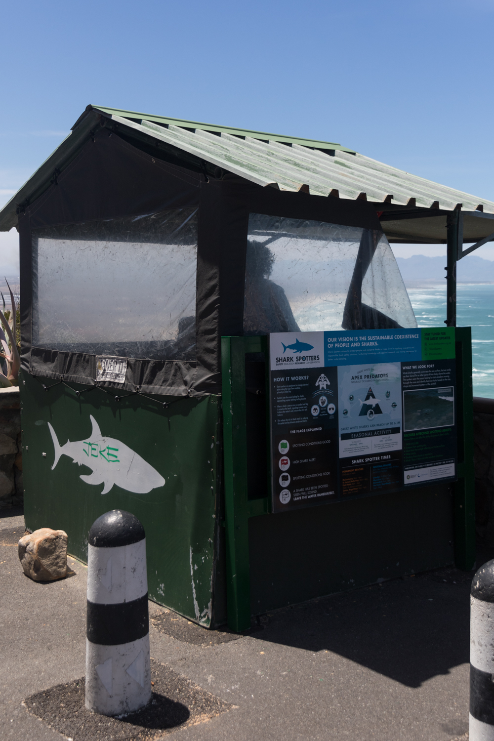 shark spotter booth in cape town