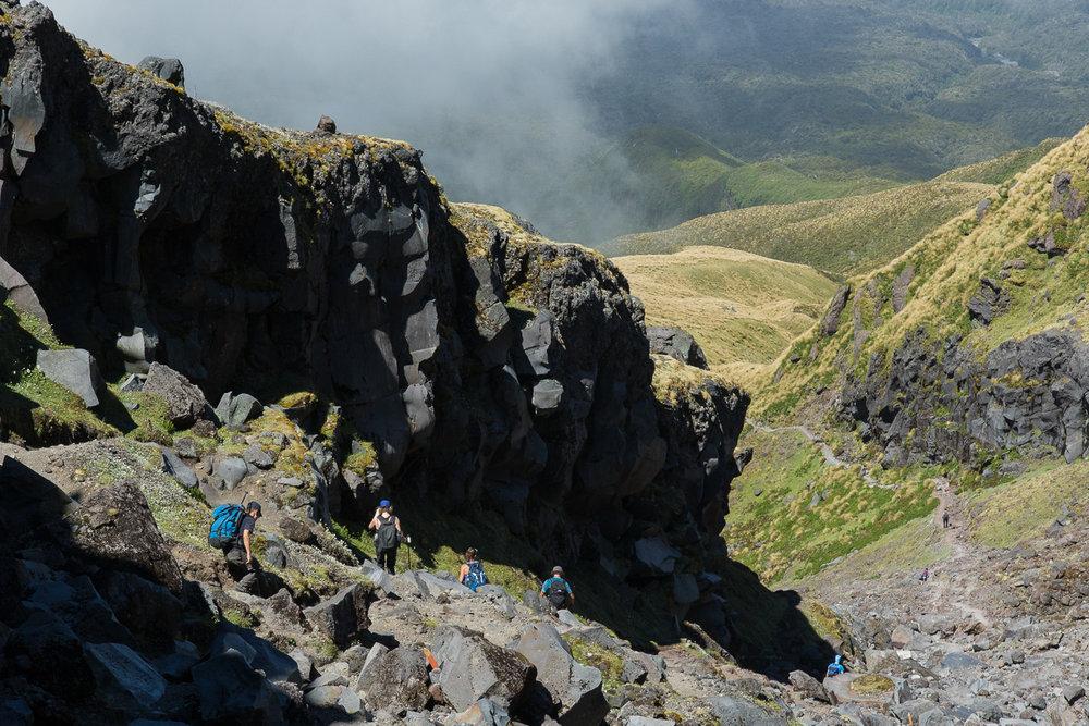 hikers_mount_taranaki