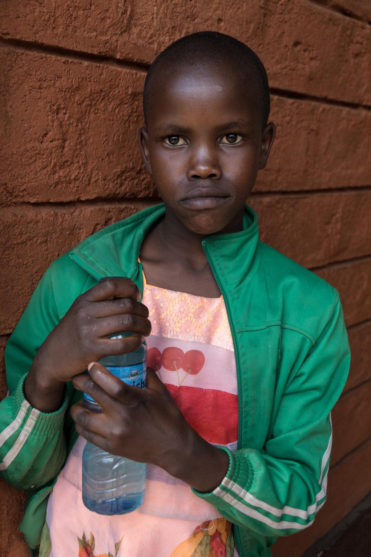 portrait female student in kenya