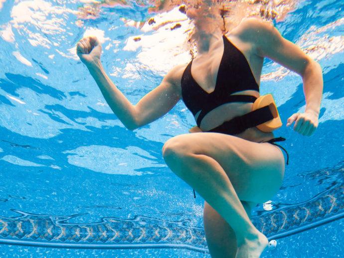 pool runnings -