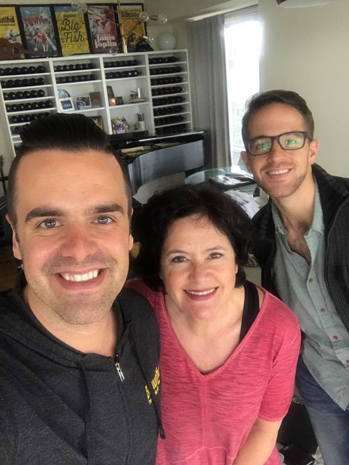 Michael J Moritz Jr, Mimi Bessette, & Joe Graziosi