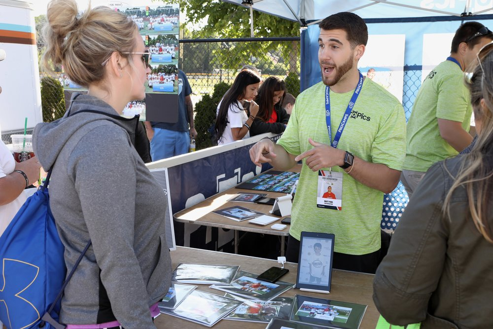 Marketing Experience   At every camp a booth will be setup where we market and sell to participants of the camp. This is where you will get on site sales and marketing experience and learn to adapt in different markets and settings.