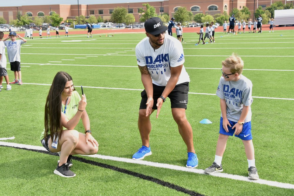 Social Media Experience   You will be in charge of the social media at all of our camps. Each camp and athlete will have you develop a new strategy on how to convey the action of the camp and to create a following and interaction with that following.
