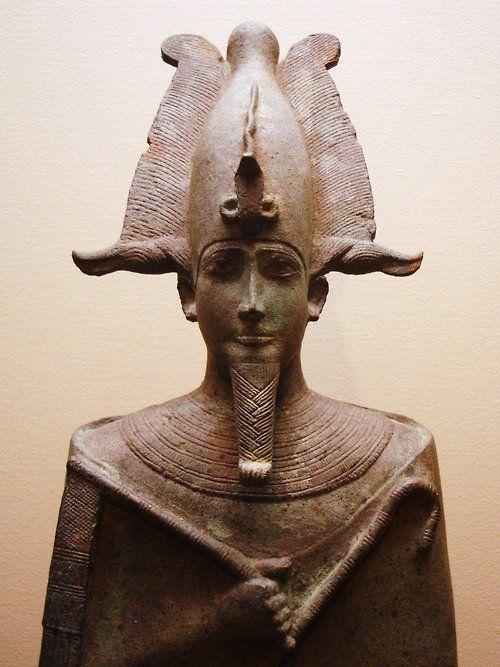 Ancient Egyptian God Osiris Statue