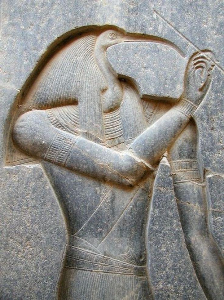 Ancient Egyptian God Thoth