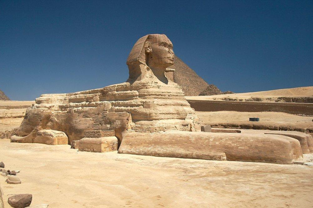 Great Sphinx in Gaza, Egypt
