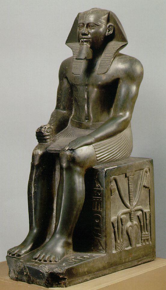 Egyptian King Khafre
