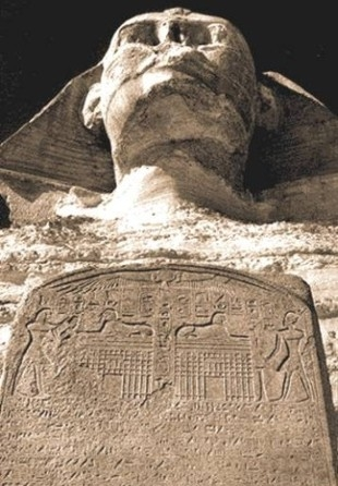 The Sphinx and the Dream Stele of Thutmose IV