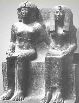 Tuthmosis and His Mother Tiaa