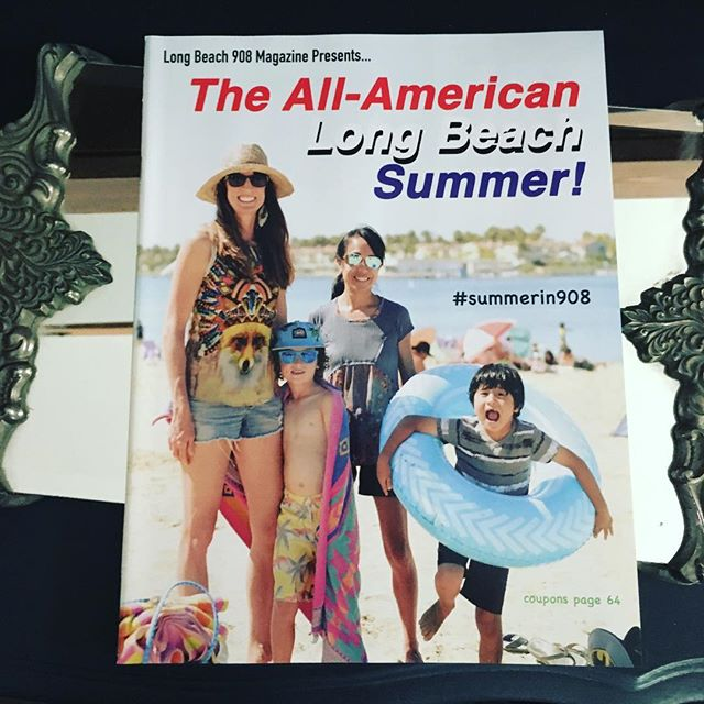New issue of @908magazine is out featuring the #AllAmericanSummer. Do you recognize anyone in it? 😉