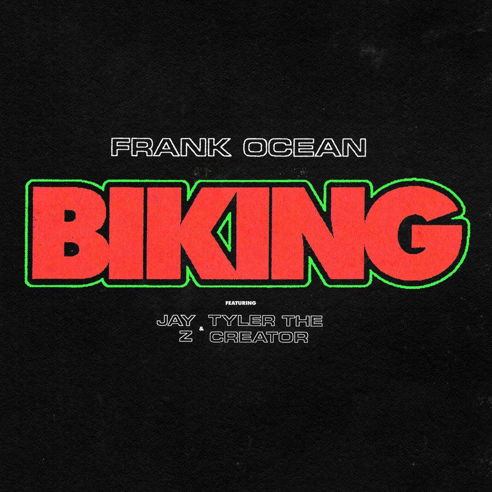 Frank Ocean - Biking - Artwork
