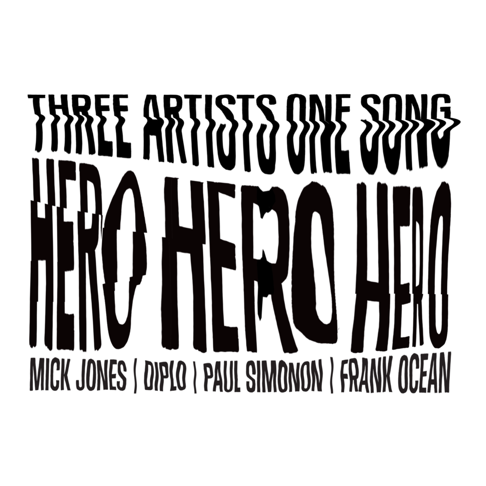 Frank Ocean - Hero - Artwork