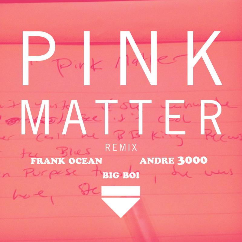 Frank Ocean - Pink Matter Remix - Artwork