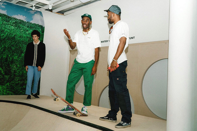 f16b359a13cb GOLF Flagship store opening party — blonded.blog