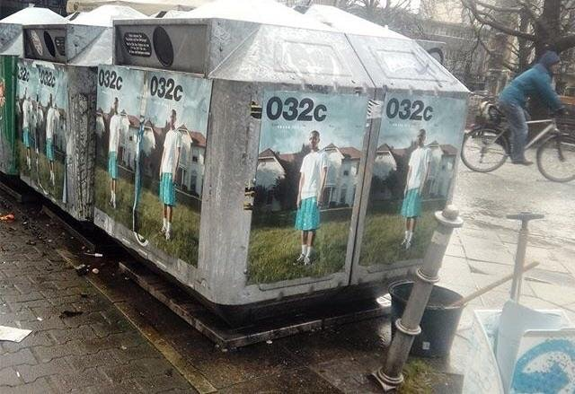 beste online New York behoorlijk goedkoop Petra Collins' 032c cover plastered throughout Berlin ...