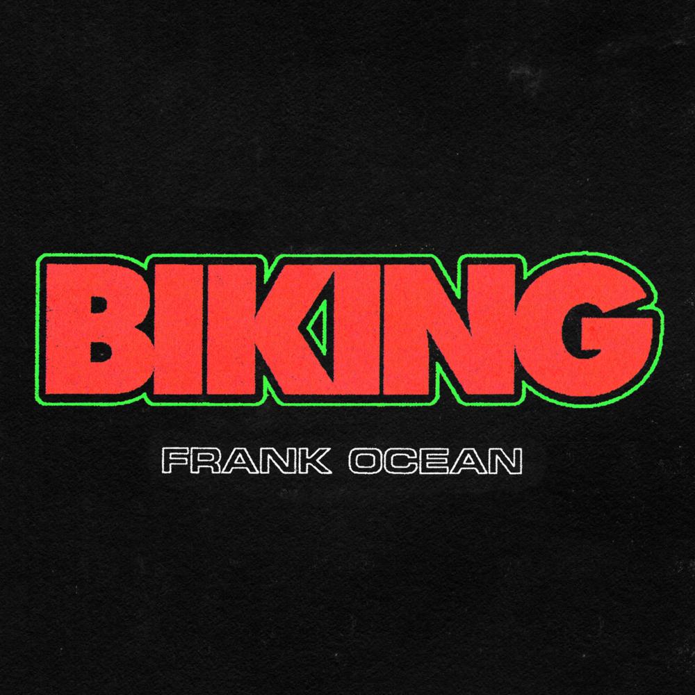 Frank Ocean - Biking Solo - Artwork
