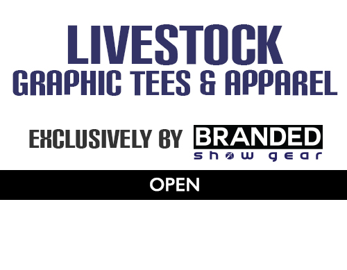 LIVESTOCK GRAPHIC TEES  Exclusive graphic tees & apparel for the livestock industry, produced by us!   Click here to shop now!
