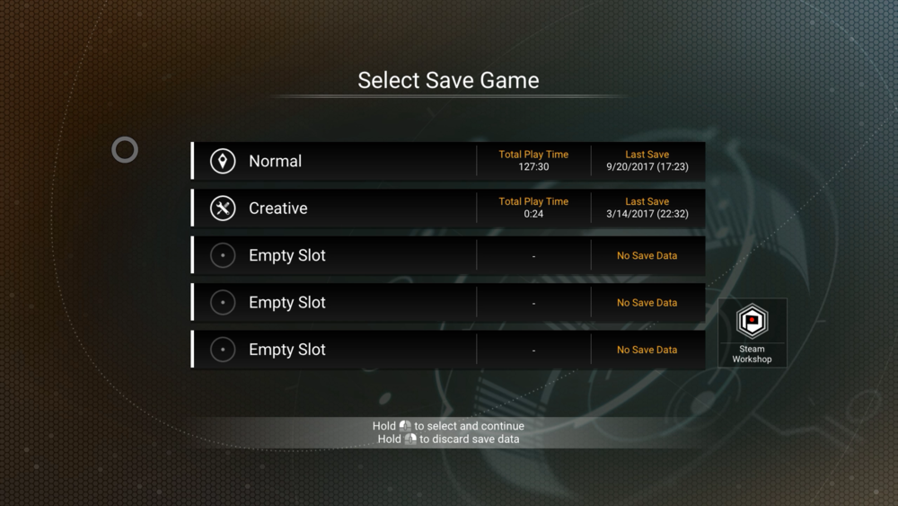 The New Save System Overhaul has produced a much more   user-friendly   experience with players   now   being able to have multiple save in the same game mode, something I think many a player has been after for a while now.