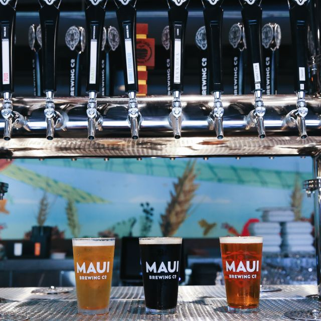 Maui Brewing  https://www.mbcrestaurants.com/waikiki/