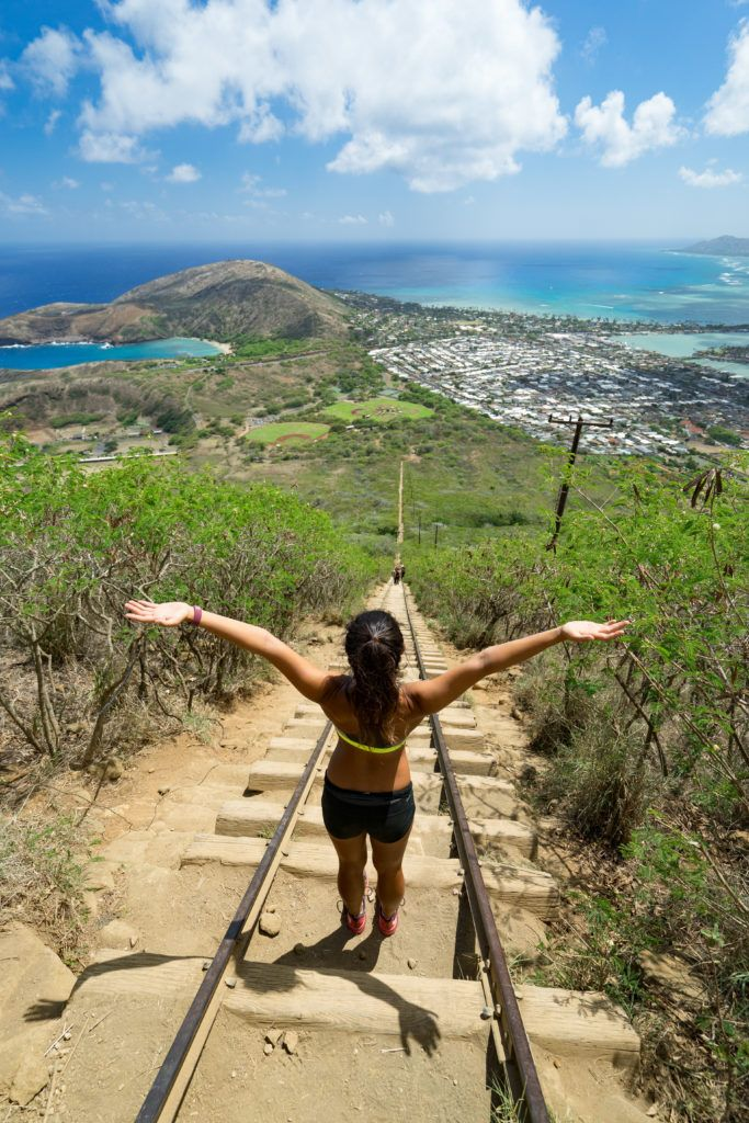 Koko Head Crater Trail - If you're looking for a stair workout with a spectacular view.  https://www.alltrails.com/trail/us/hawaii/koko-head-crater-trail--2