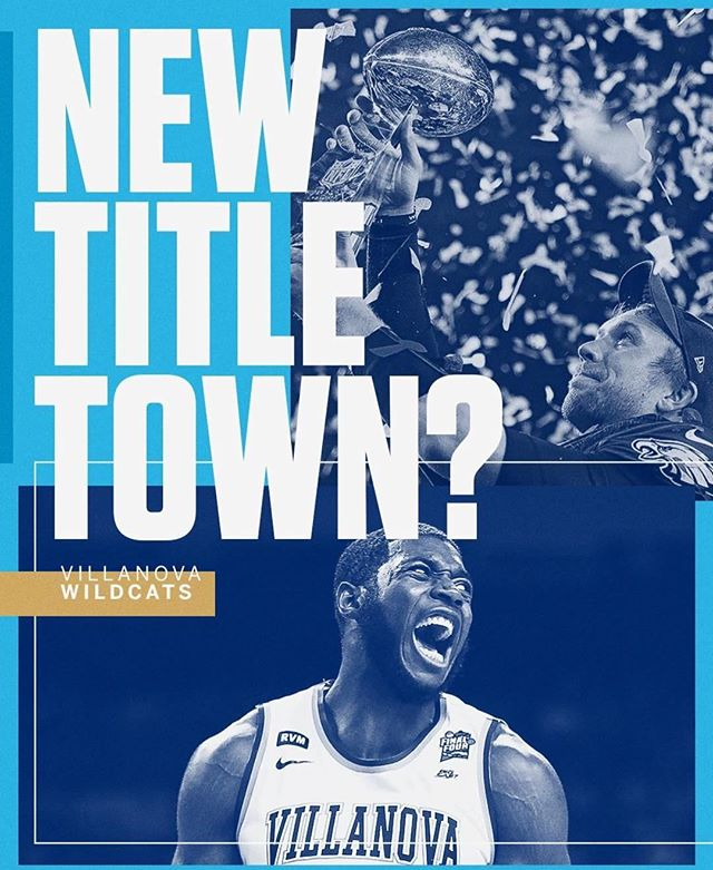 Shining moment for @epaschall4 & the @novambb team! Congratulations E, you have the heart and mind of a champion! 🏀🏆 #justgettingstarted #villanovawildcats #ncaambb #ncaatournament #nationalchampions #ericpaschall #thecity #thecitybasketball