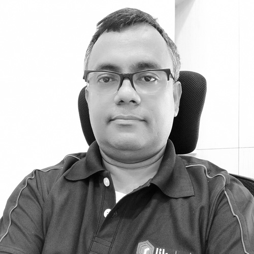 Subham Mitra, Product Engineering Head - More than 20 yrs. of experience in leadership Roles in NESS Technologies, IBM, Cognizant, ATOS across Technology CoEs, Performance Engineering, Program Management and R&D .Has deep Technology experience across multiple domains like Blockchain, DW/BI, Big Data, Analytics and Databases. Subham holds an Economics & Statistics Degree from University of Kolkata and a Certification on Data Science.