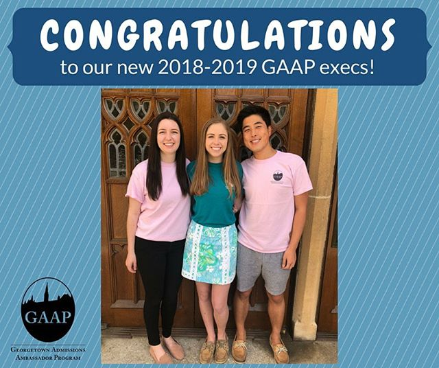 CONGRATULATIONS to our 2018-2019 GAAP execs!!!
