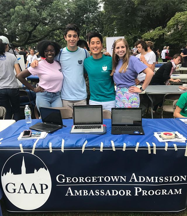 Come stop by the GAAP table at the CAB Fair!! We're right across of White Gravenor!