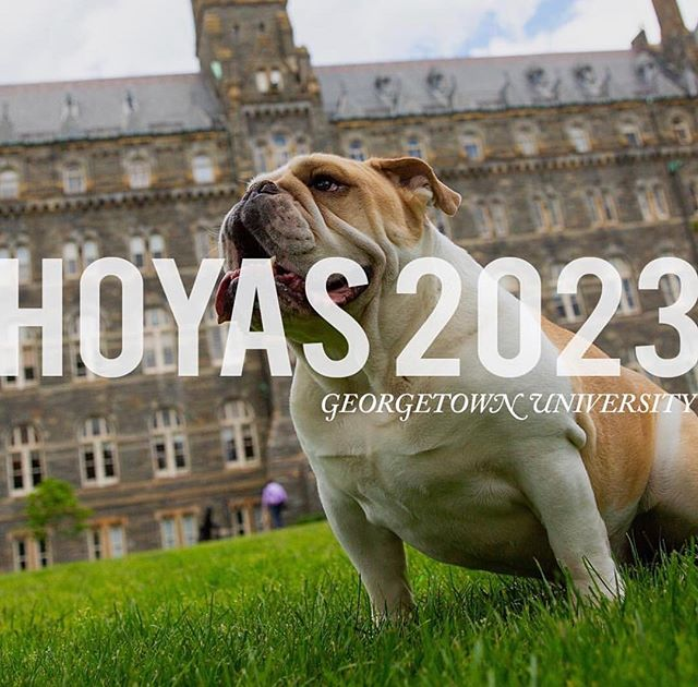 Congratulations to our newest Hoyas!! Welcome to the Hoya fam, we can't wait to see you all on the Hilltop! Use the hashtag #hoyas2023 to announce the great news! #HoyaSaxa 