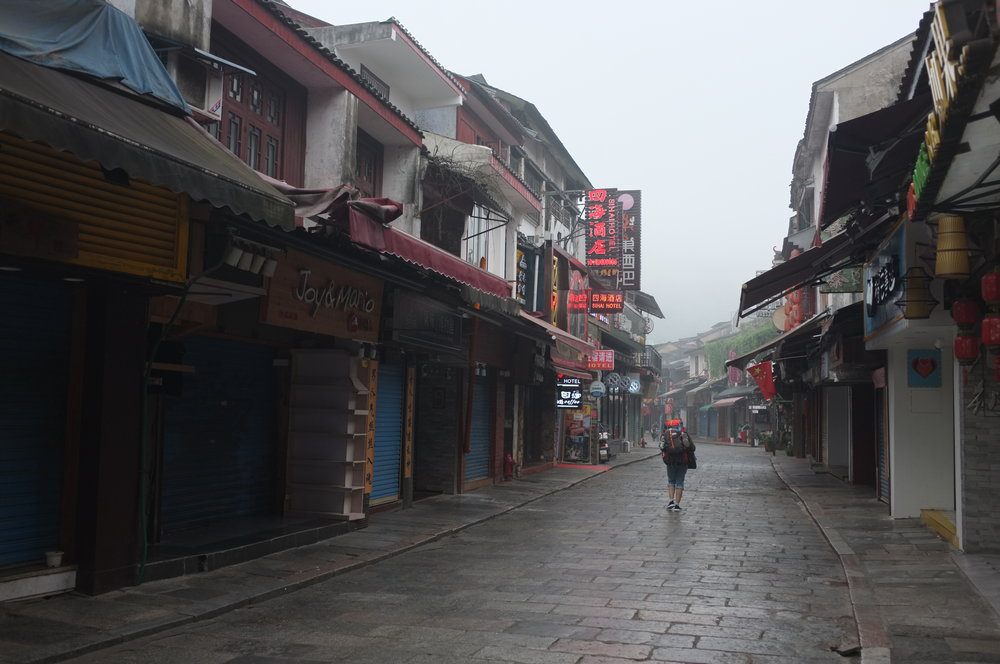 Leaving Yangshou
