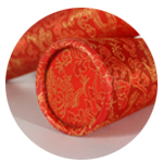 All of our products come in beautiful complimentary silk scroll boxes or tubes.