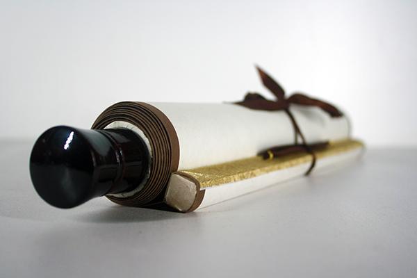 Bespoke Wedding chinese calligraphy scroll artwork gift