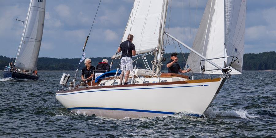 "Swan 36 ""Tarantella"" Owned by Nautor`s first customer, Mr.Heinz Ramm-Schmidt"