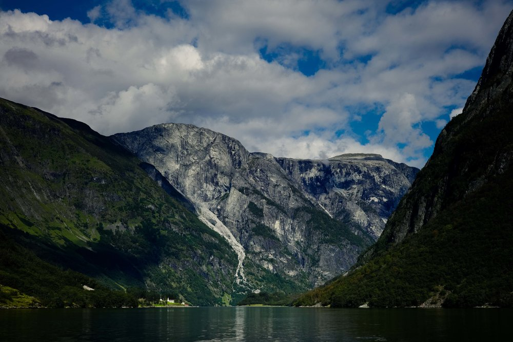 Aurlandsfjorden, Norway. Photo: Daniel Novello