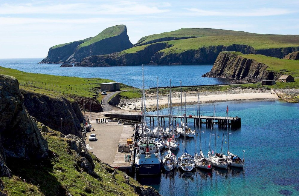 Contessa 35 Tessie in Shetland. Photo by Erik Aanderaa