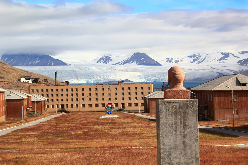 The abandoned Russian mining settlement, Pyramiden. Photo by:Marcela Cardenas/www.nordnorge.com