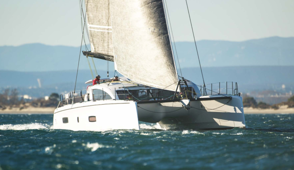 Outremer 5x. Photo by: ©Robin Christol
