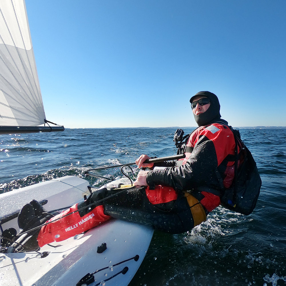 RS Aero sailing. Photo: Magne Klann