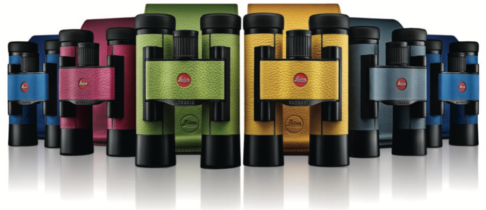 The Leica Ultravid Binoculars comes in many colours. Foto: Leica Camera AG