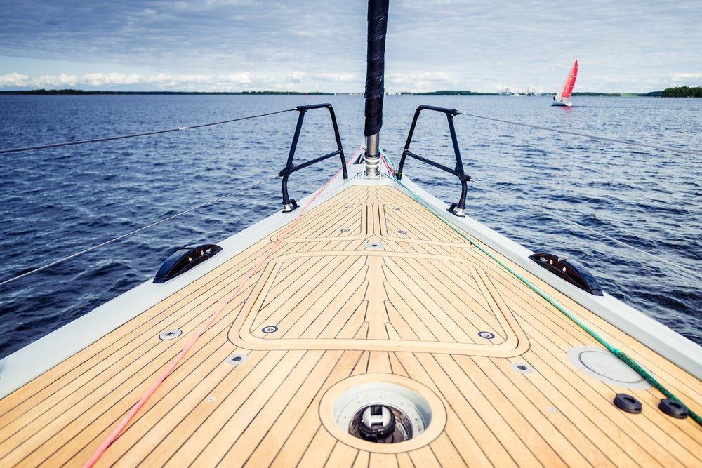 Uncluttered foredeck. Photo by: Daniel Novello