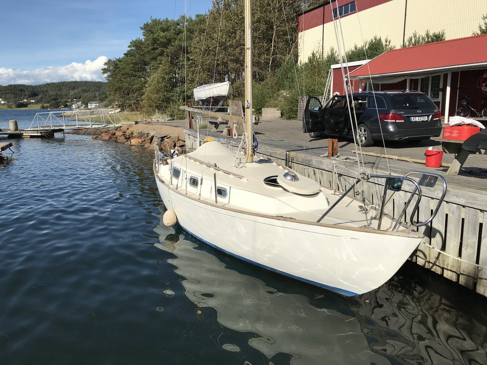 The Contessa 26 just launched late august 2018. Henån, Orust Sweden. Photo by: Daniel Novello