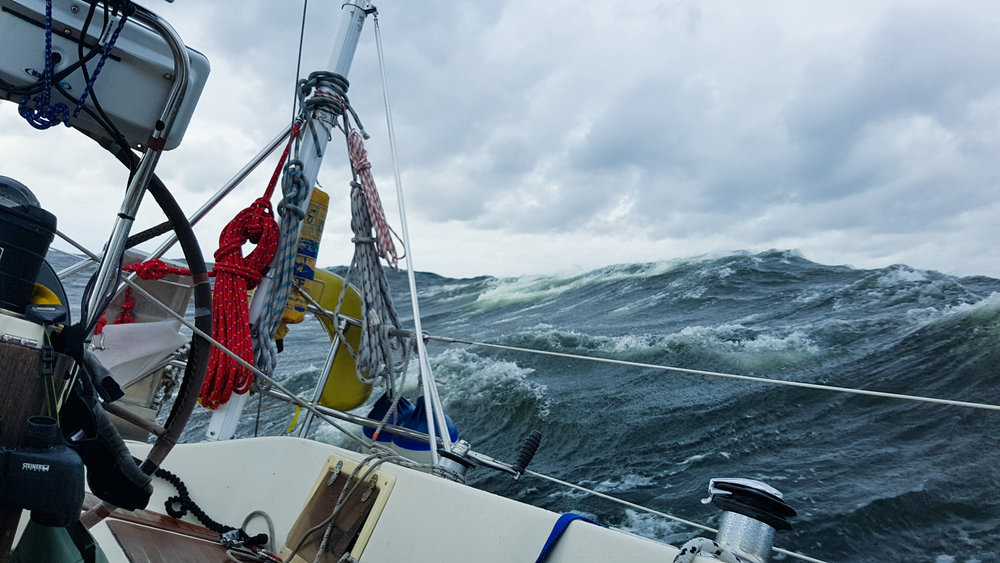 "Stormy Seas in the Baltic Sea. Photo by: Kari ""Ruffe"" Nurmi"