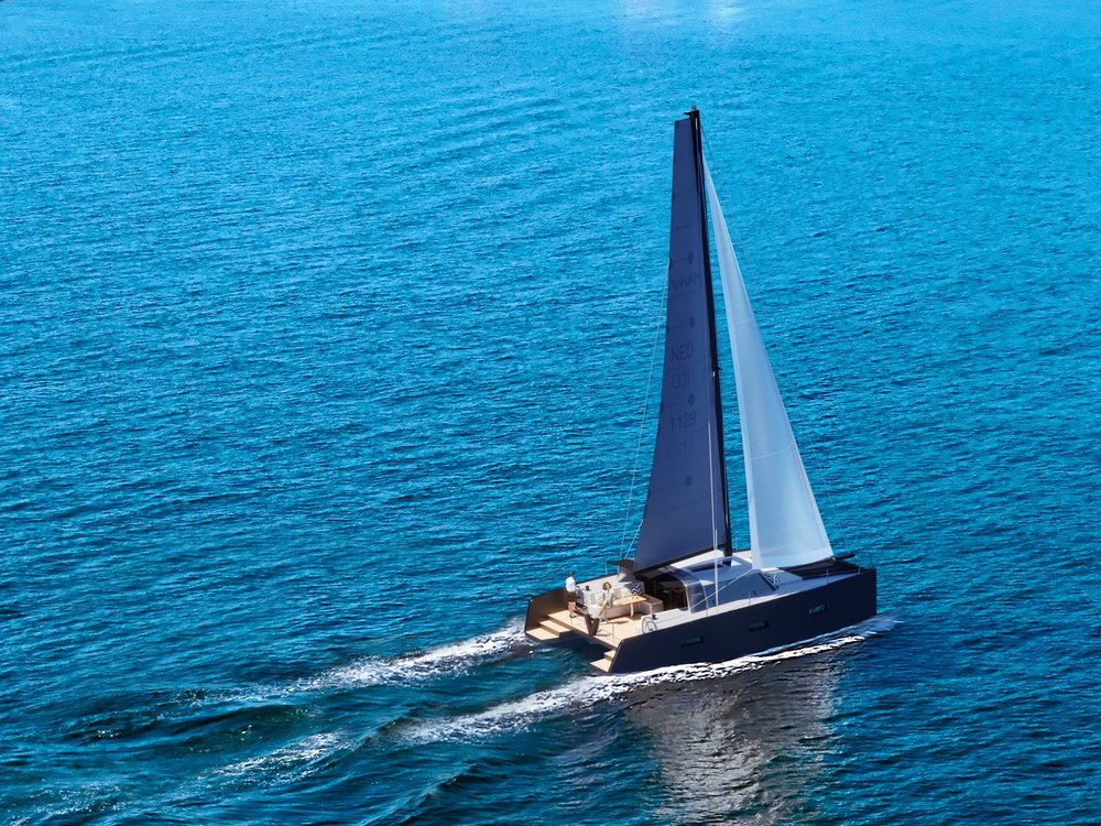 The Vaan R4. Photo by www.vaanyachts.nl