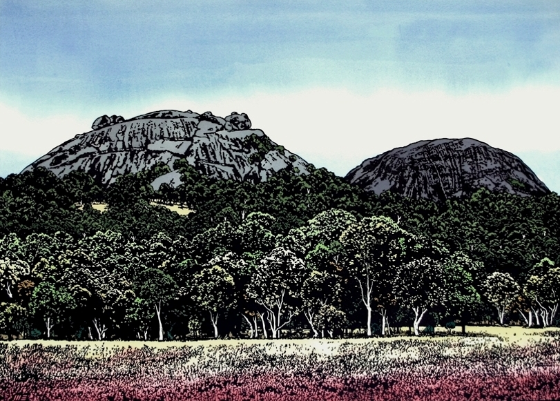 The Pyramids, Girraween National Park, Qld