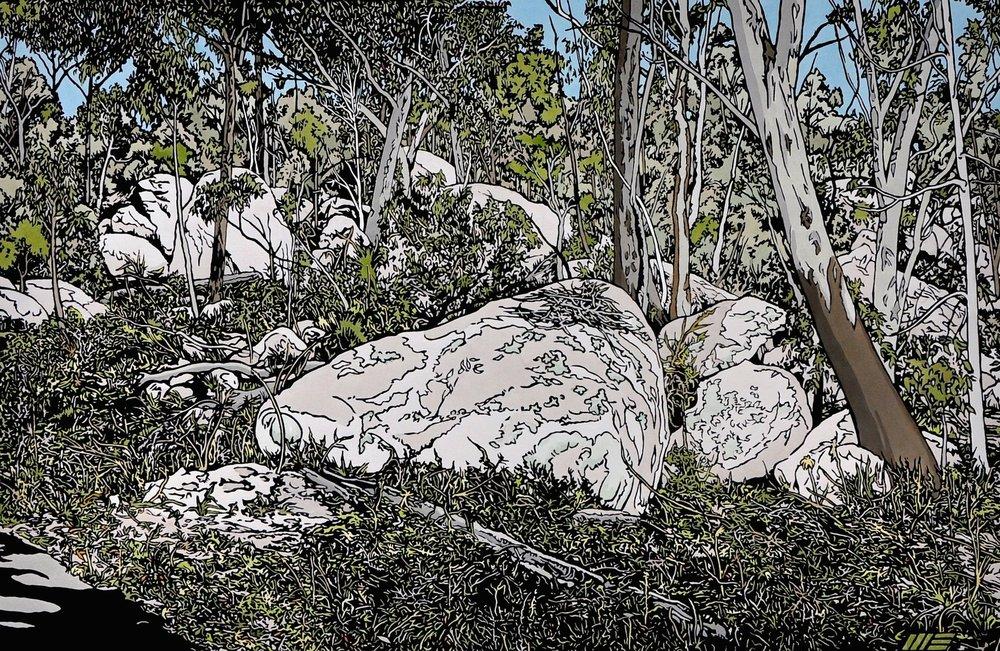 Road through the Granite Belt 2