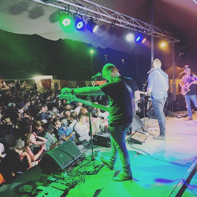 Tamworth 2019 || Damn what an emotional couple of weeks it has been. From saying farewell to Luke at Harrow BnS, to then driving 14 hours up to @tcmf_official and playing eight shows with our newest member @megansidwellmusic  We had so much fun, but the Tamworth blues are certainly settling in.  Thanks to everyone who came out to support us at a show, bought merch and sung along to our songs. You all allow us to do what we love!  Stay tuned for more IAB in 2019!  Don't forget to head to iainarchibald.com  Iain, Cam, Megan & Jon  #countrymusic #iabmusic #countryrock #melbourne #guitar #bass #livemusic #harrowbns #australianmusic #musicfans
