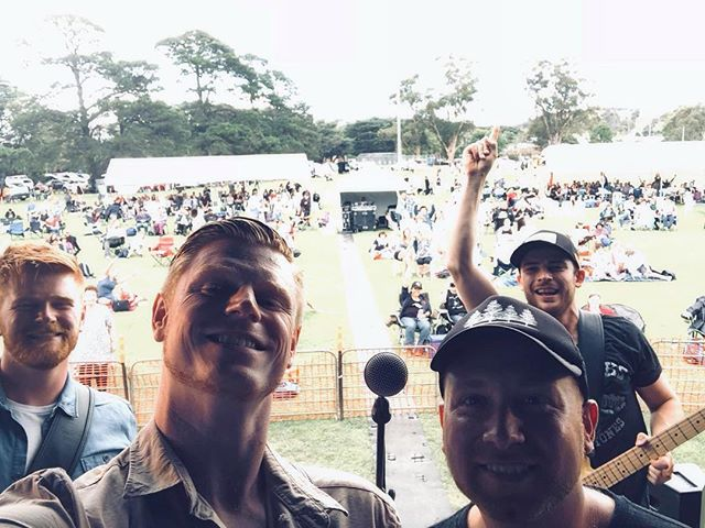 A year ago today we hit the Whittlesea Country Music festival stage with @vipercreekbandofficial & @troykempmusic  What an honour!! #blessed🙏  IAB 🎸🥁