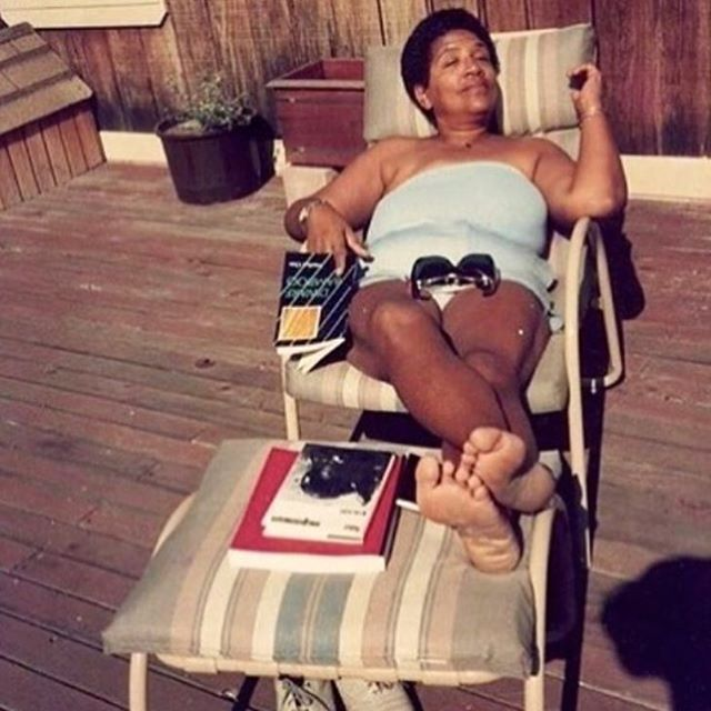 Today's mood is served by Audre Lorde🌞 via @the.wing